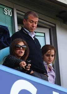 Chelsea FC attracts a glamorous crowd