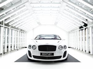 The beautiful Bentley Supersports