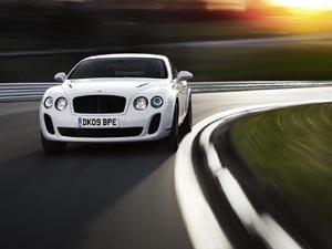 The Bentley Supersports struts its funky stuff