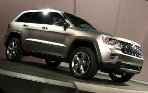 The good-looking Grand Jeep Cherokee
