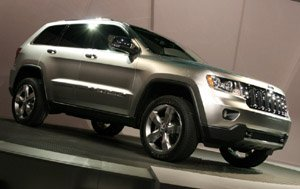 The good-looking Grand Jeep Cherokee