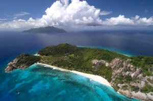 Tropical paradise: North Island, the Seychelles