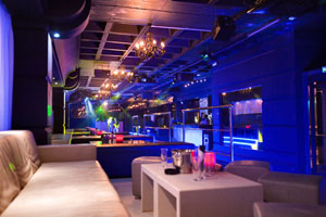 Tibu nightclub in Puerto Banus