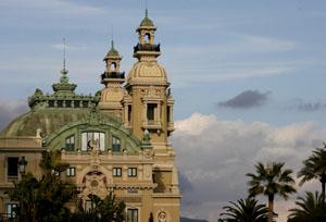 Monaco's famous opera house