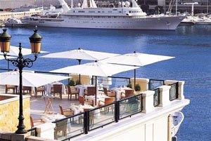 A view down to Monaco marina