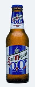 San Miguel cerveza sin alcohol
