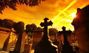 Paris cemetery Pere Lachaise