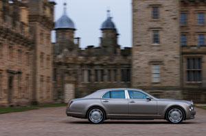 The super luxurious Bentley Mulsanne
