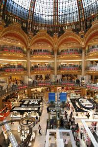 Galeries Lafayette Paris shopping centre