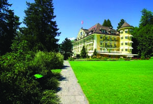 Grand Hotel Bellevue, Gstaad, Switzerland