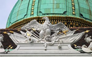 Detail of a building in Vienna