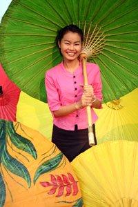 Vivid colours of Thailand