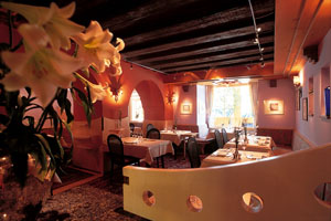 Two Michelin star restaurant, The Obauer