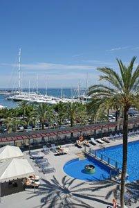 The yacht marina, Palma de Mallorca