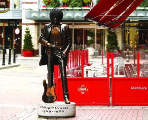 One of Dublin's famous sons - Phil Lynott of Thin Lizzy