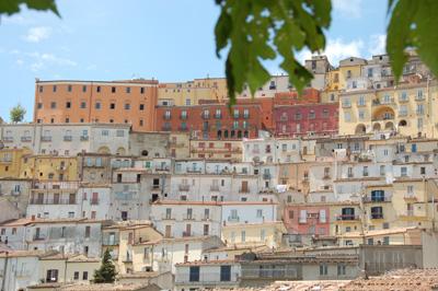 A view of Calitri borgo