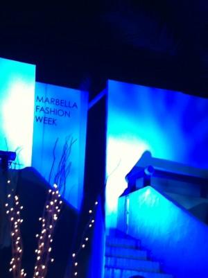 Marbella Fashion Week runway