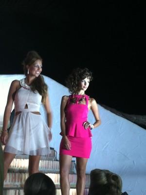Models at MFW 2012