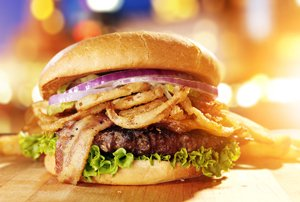 Gourmet burger competition