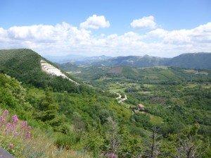 Countryside Calitri, Campania,  Italy